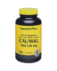 Nature's Plus Cal/Mag 500/250mg 90 tabs