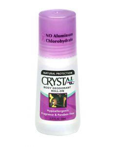 Crystal deodorant roll on 66 ml