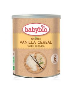 Babybio Organic Vanilla Cereal Rice Quinoa 220 gr