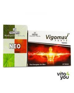 Charak Neo 90 tabs & Charak Vigomax Forte 20 tabs