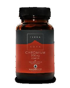 Terra Nova Chromium 200 μg 50 veg caps