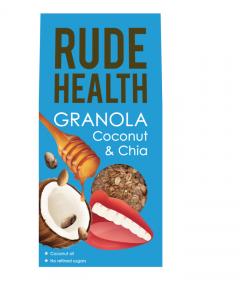 Rude Health Granola Coconut & Chia 450 gr