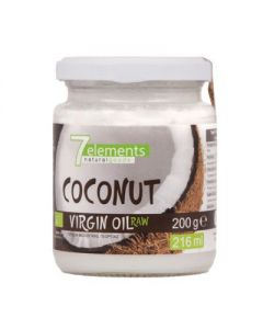 7elements Coconut virgin oil raw organic 200 gr