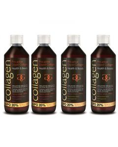 Collagen Pro-Active Liquid 600 ml 4 συσκευασίες