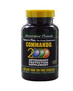 Nature's Plus Commando 2000 Antioxidant Protection 90 tabs