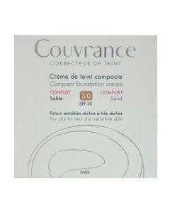 Avene Couvrance Creme de teint Compact Confort SPF 30 3.0 Sable 10 gr