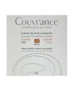 Avene Couvrance Creme de teint Compact Confort SPF 30 4.0 Miel 10 gr