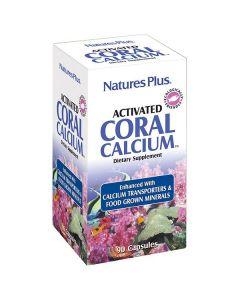 Nature's Plus Activated Coral Calcium 1000 mg 90 veg.caps