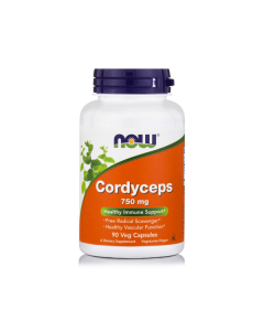 Now Cordyceps 750 mg 90 veg caps