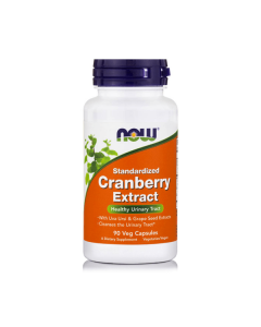 Now Cranberry Maximum Strength 6% standardized w/Uva Ursi 90 vcaps