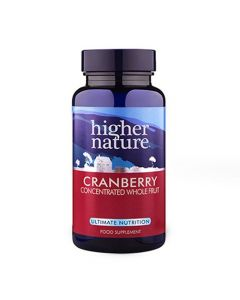 Higher Nature Cranberry Concentrated Whole Fruit 30 caps
