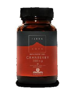 Terra Nova Cranberry 300 mg 50 veg caps