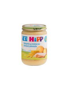 Hipp Καλαμπόκι με πατάτες και βιολογική γαλοπούλα 190 gr