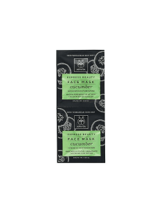 Apivita Express Beauty Face mask Cucumber 2 x 8 ml