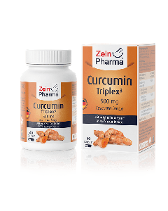 Zein Pharma Curcumin Triplex3 500 mg 40 caps