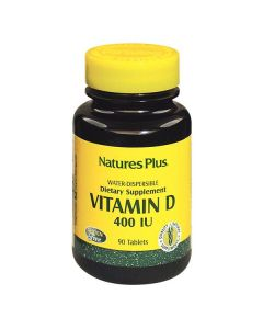 Nature's Plus Vitamin D3 400 IU water dispersible 90 tabs
