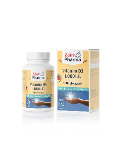 Zein Pharma Vitamin D3 1000 IU 200 softgel caps