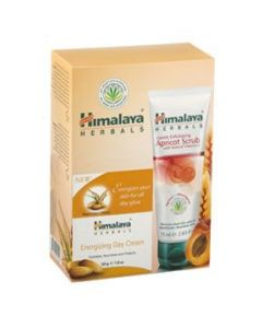 Himalaya Σετ Energizing Day Cream 50ml & Gentle Exfoliating Apricot Scrub with Natural Vitamin E 75ml