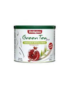 Deligios Green Tea Plus Pomegranate 230 gr