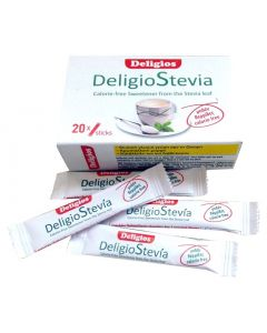 Deligios Stevia 20 sticks x 1.4 gr
