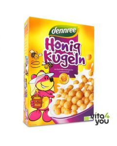 Dennree Crunchy cereal with honey 250 gr