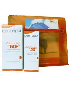 Dermagor Creme Solaire SPF 50 100 ml & Dermagor Emulsion Solaire SPF 20 40 ml