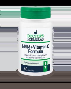 Doctor's Formulas MSM & Vitamin C Formula 60 caps