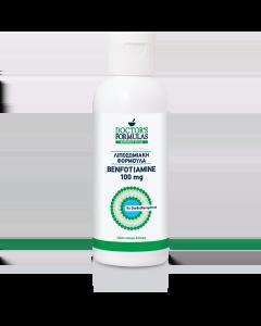 Doctor's Formulas Liposomal Benfotiamine 100 mg 120 ml