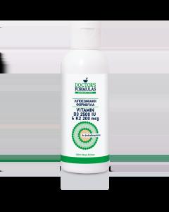 Doctor's Formula Liposomal Vitamin D3 2500 IU & K2 200 mcg 120 ml