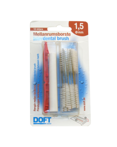 Doft Interdental brush 1.5 mm 12 pcs
