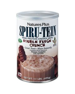 Nature's Plus Spiru-Tein Double Fudge Crunch 495 gr