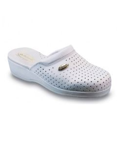 Dr Scholl Clog Back Guard White