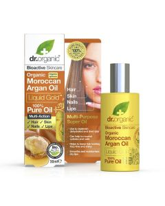 Dr. Organic Argan oil Liquid Gold 100% Pure 50 ml