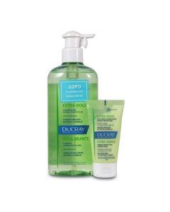 Ducray Extra Doux Shampoo 400 ml & Δώρο Conditioner 50 ml