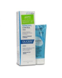 Ducray Keracnyl Control creme 30 ml & Δώρο Keracnyl Gel moussant 40 ml