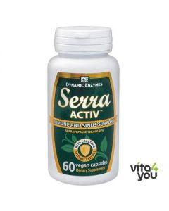 Dynamic Enzymes Serra Activ 60 vcaps