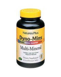 Nature's Plus Dyno-Mins Multi-Mineral acid resistant 90 tabs