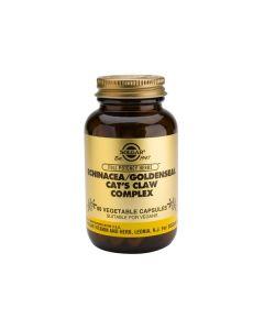 Solgar Echinacea/ Goldenseal/ Cat's Claw Complex 60 veg.caps