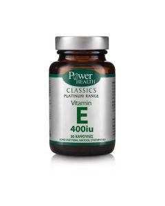Power Health Classics Platinum Vitamin E 400 IU 30 caps