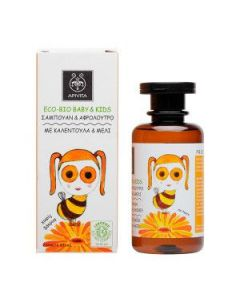 Apivita Eco-Bio Baby Kids Hair-Body wash calendula & honey 200 ml