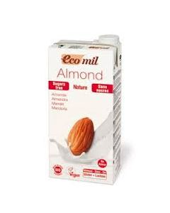 Ecomil Natural almond milk natural 1 lt