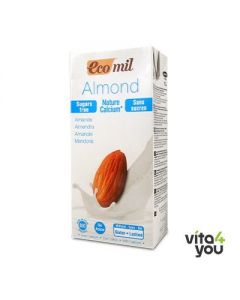 Ecomil Natural almond milk with calcium 1 lt
