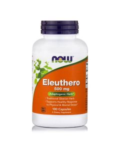 Now Eleuthero 500 mg 100 caps