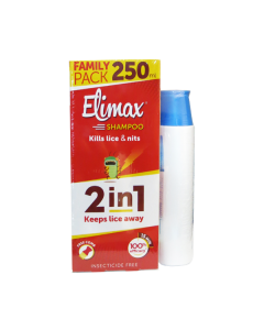 Gerolymatos Elimax Shampoo 2 in 1 Family Pack 250 ml & Elimax Shampoo 4 in 1 200 ml
