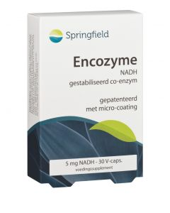 Springfield Encozyme NADH 5 mg 30 vcaps