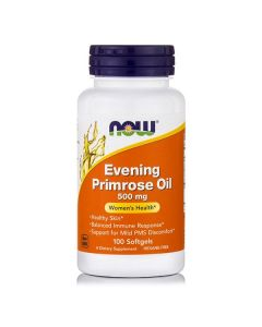 Now Evening Primrose Oil 500 mg w/GLA 100 softgels