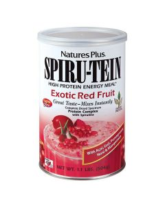 Nature's Plus Spiru-Tein Exotic Red Fruit 504 gr