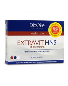DioCare Extravit Hair Nails & Skin 30 tabs