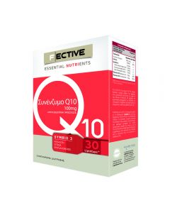 F Ective Co Q10 100 mg 30 Lipid caps