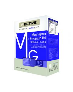 F Ective Magnesium 300 mg B6 5 mg 30 tabs
